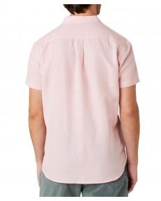 Koszula Wrangler SS 1PKT SHIRT W5J7 Silver Pink