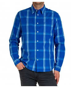 Koszula Wrangler LS 1 PKT SHIRT W5M24 Limoges Blue