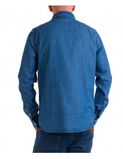 Koszula Wrangler DENIM SHIRT W5M7C Mid Indigo