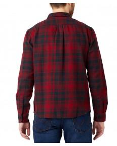 Koszula Wrangler LS 2PKT SHIRT W5M8 Biking Red