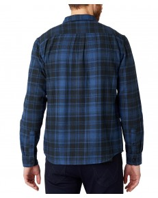 Koszula Wrangler LS 2PKT SHIRT W5M9 Dark Denim