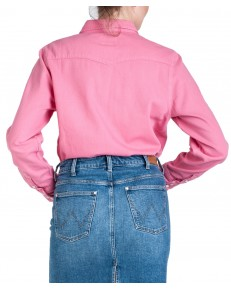 Koszula Wrangler JEANIES WESTERN SHIRT W5Q18 Bubblegum Pink