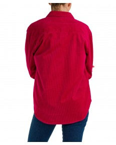Koszula Wrangler CORDUROY SHIRT W5T12 Cerise