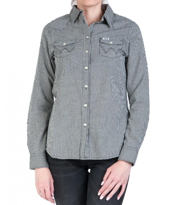Koszula Wrangler LS WESTERN SHIRT W5Z04 Offwhite W5Z04M737