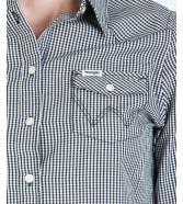 Koszula Wrangler LS WESTERN SHIRT W5Z04 Offwhite