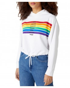 Wrangler PRIDE SWEAT W620H White