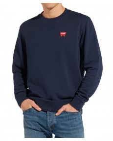Wrangler SIGN OFF CREW W6589 Navy