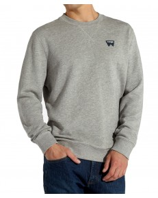Wrangler SIGN OFF CREW W6589 Mid Grey Mel