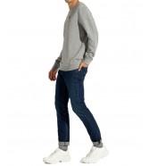 Bluza Wrangler SIGN OFF CREW W6589 Mid Grey Mel