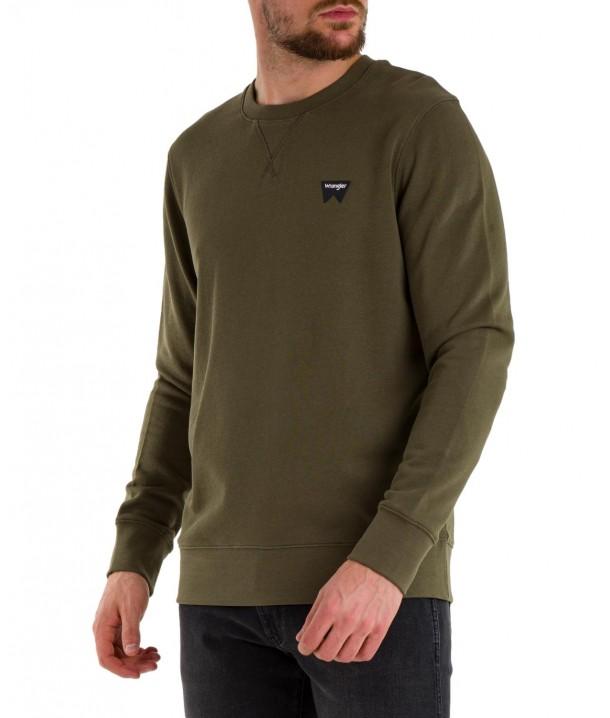 Bluza Wrangler SIGN OFF CREW W6589 Ivy Green