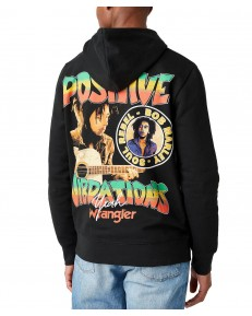 Wrangler VIBRATIONS HOODIE W680H Black