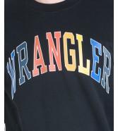 Wrangler LOGO SWEAT W6B6H Black