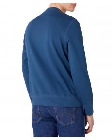 Bluza Wrangler TONAL LOGO SWEAT W6C8H Dark Blue Teal