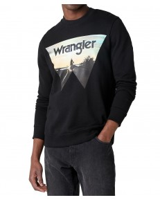 Wrangler EXPLORER SWEAT W6D0H Black