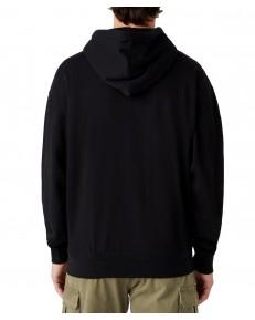 Bluza Wrangler HOODIE W6E1H Black