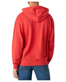 Bluza Wrangler HOODIE W6E1H Roccoco Red