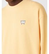 Bluza Wrangler BADGE CREW W6E5H Love Mango
