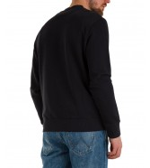 Bluza Wrangler CHEST PRINT CREW W6F5 Black