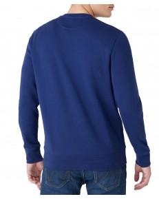 Bluza Wrangler SIGN OFF CREW W6G3 Medieval Blue