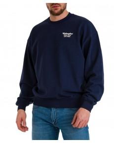 Bluza Wrangler WWYG CREW W6G7 Navy