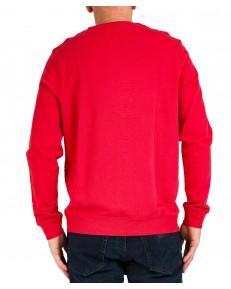 Bluza Wrangler CREW SWEAT W6M3 Rococco Red