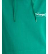 Wrangler HOODIE W6M4 Golf Green