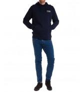 Bluza Wrangler HOODIE W6M4 Real Navy