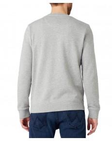 Bluza Wrangler CREW SWEAT W6M8 Mid Grey Mel