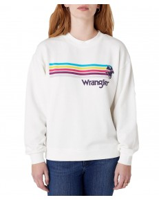 Wrangler RETRO SWEAT W6N0H Off White