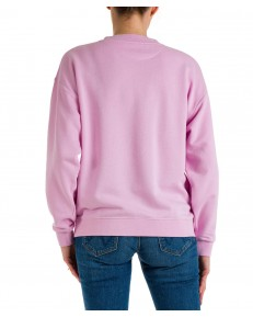 Bluza Wrangler RETRO SWEAT W6N0H Pink Lavender