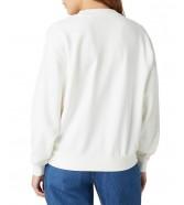 Bluza Wrangler RETRO SWEAT W6N0H Worn White
