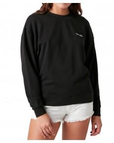 Bluza Wrangler RETRO SWEAT W6N0H Black