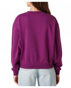 Wrangler RETRO LOGO SWEAT W6N0H Ultraviolet