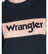 Wrangler HIGH RIB RETRO SWEAT W6N0H Black