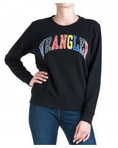 Wrangler REGULAR SWEAT W6N2H Black