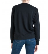 Wrangler REGULAR SWEAT W6N2H Black