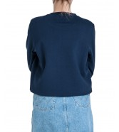 Wrangler REGULAR SWEAT W6N2H Navy