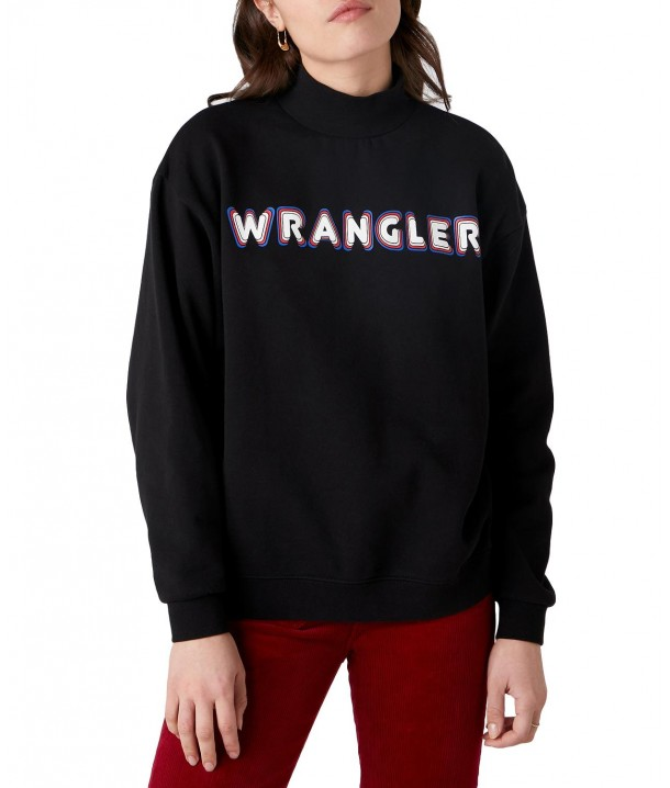 Wrangler HIGH SWEAT W6P8H Black