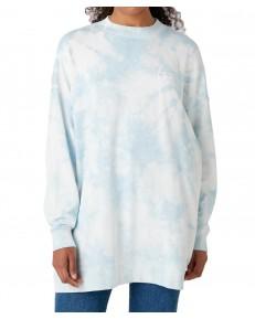 Wrangler OVERSIZE SWEAT W6Q4H Blue Tie Dye
