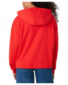 Wrangler DRAWCORD HOODIE W6Q7H Flame Red