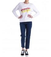 Bluza Wrangler CREW SWEAT W6Z2H White