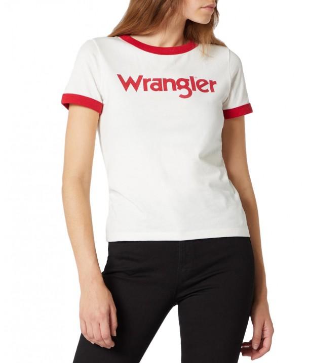 Wrangler RINGER TEE W7385 Offwhite