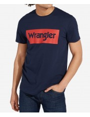 Wrangler SS LOGO TEE W742F Navy