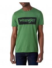 Wrangler SS LOGO TEE W742F Artichoke Green