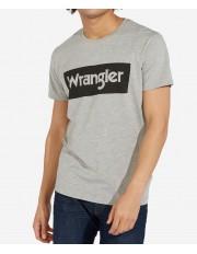 Wrangler SS LOGO TEE W742F Mid Grey Mel