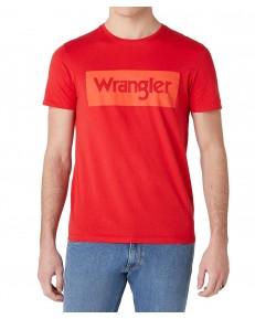 Wrangler SS LOGO TEE W742F Mars Red