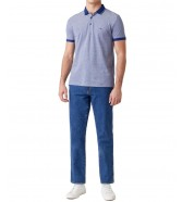 Koszulka Wrangler SS REFINED POLO W7AFK Twilight Blue 1