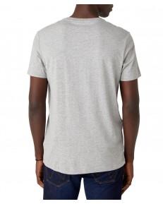 T-shirt Wrangler AMERICANA TEE W7AG Mid Grey Mel