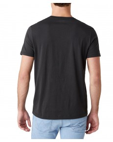 T-shirt Wrangler AMERICANA TEE W7AG Faded Black