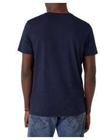 Wrangler SS GRAPHIC TEE W7AID Dark Navy